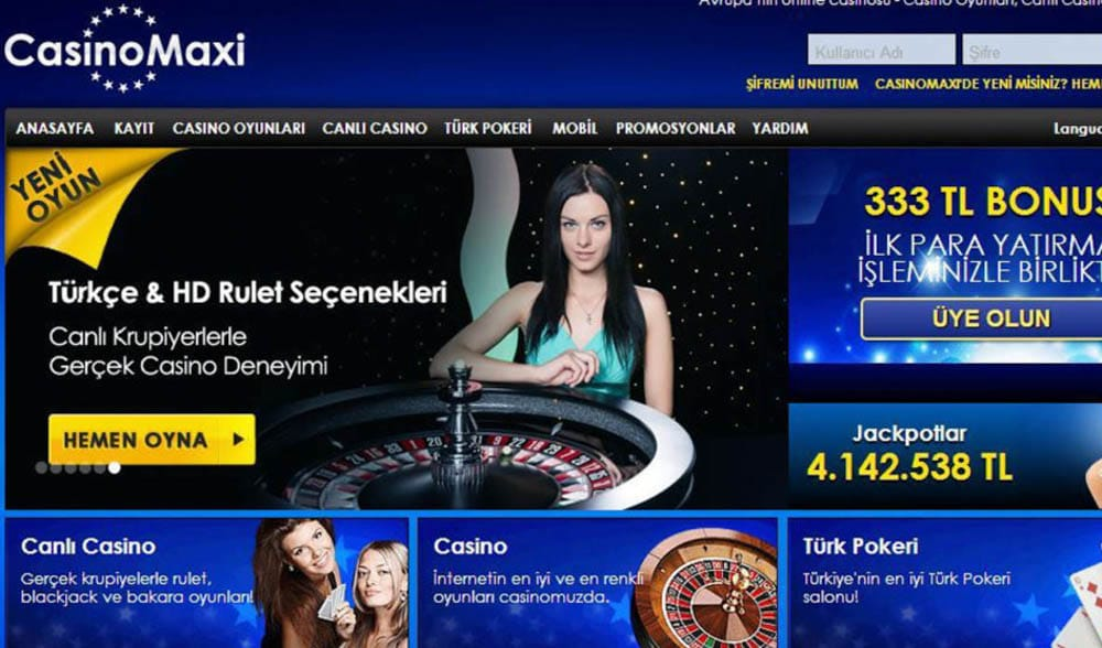 CasinoMaxi rulet ile kazan