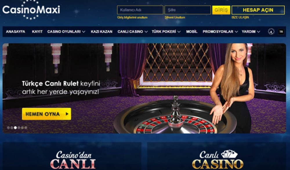 casinoMaxi rulet güvenilir mi